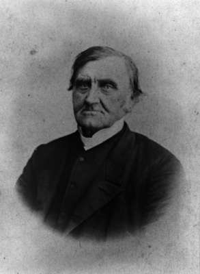 Reverend John Gerrie, c. 1875-1880.
