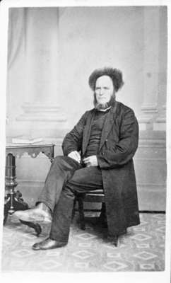 Reverend William Ormiston, c. 1867-70.