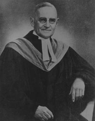 Reverend Albert P. Menzies, c. 1940.
