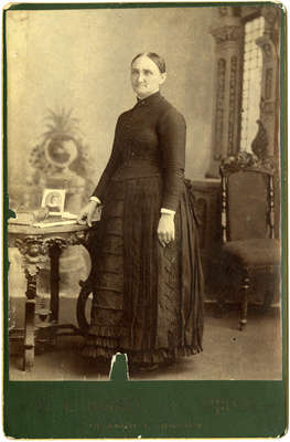 Mrs. John Lawrence Smith (Elizabeth Strickland), c. 1890