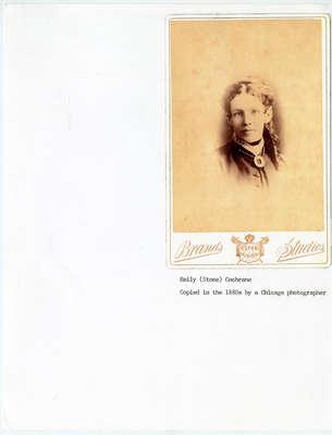 Mrs. Samuel H. Cochrane, c. 1860