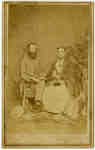 Mr. John Lawrence Smith and Mrs. John Lawrence Smith (Elizabeth Strickland), c.1868