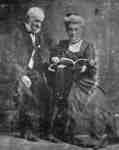 Mr. Ross Johnston and his wife Mrs. Ross Johnston (Esther Ann Hawley), c.1900