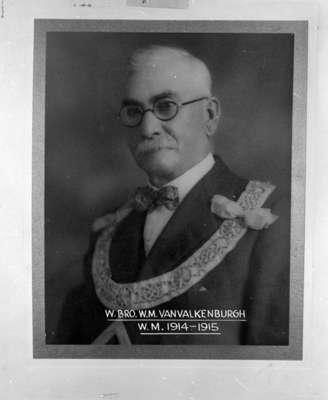 William VanValkenburgh, 1914