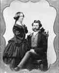 Mr. and Mrs. Henry Warren Annes, c.1859
