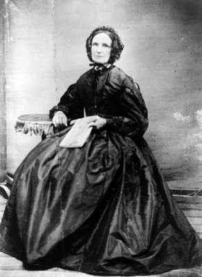 Mrs. William Warren Sr. (Clarissa Lynde), c.1865