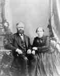 John Heron (1828-1890)and Mary Ewen Heron (1833-1920), c.1880
