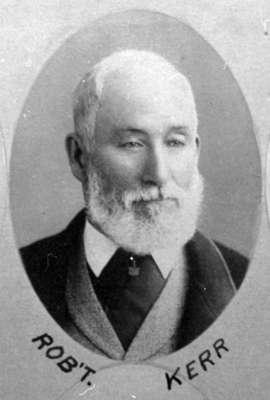 Robert G. Kerr, 1892