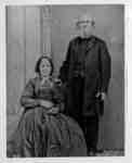 Mrs. Jeremiah Palmer (Mary Ann Washer) and Jeremiah W. Palmer, c.1875