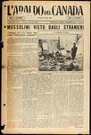 L'Araldo del Canada, 4 Feb 1933