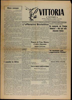 La Vittoria, 16 Jan 1943