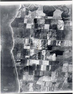 Duffins Creek - Lake Ontario - Ajax- Aerial Photograph