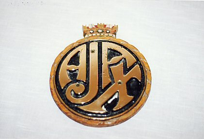 HMS Ajax plaque