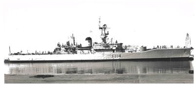 HMS Ajax, 1963 - Docked in Oshawa, ON