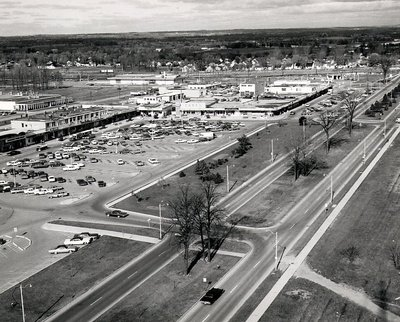 Shopping Plaza - Harwood Avenue - Ajax- Aerial Photograph
