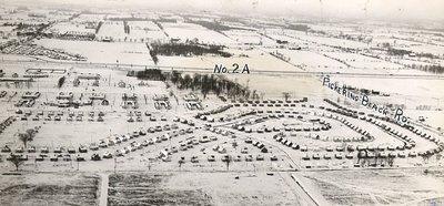 Pickering Beach Road, c.1948 - Ajax - Aerial Photograph