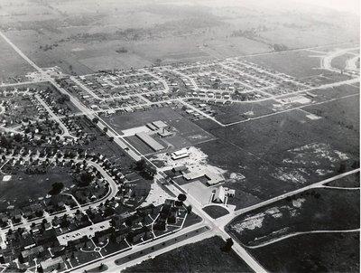 Harwood Avenue & Bayly Street. - Ajax- Aerial Photograph