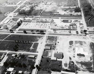 Old Plaza - Ajax - Aerial Photo