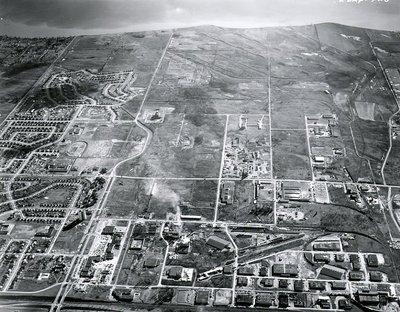 Lake Ontario, 1966 - Ajax - Aerial Photo