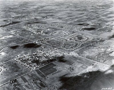 Shopping Plaza, 1963 - Ajax - Aerial Photo