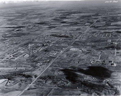 Duffins Creek, November 1963 - Ajax - Aerial Photo