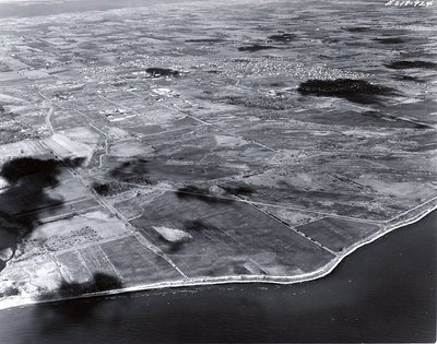 Lake Ontario, November 1963 - Ajax - Aerial Photo
