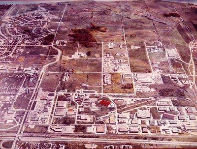 Lake Ontario - Highway 401, c. 1968 - Ajax - Aerial Photo
