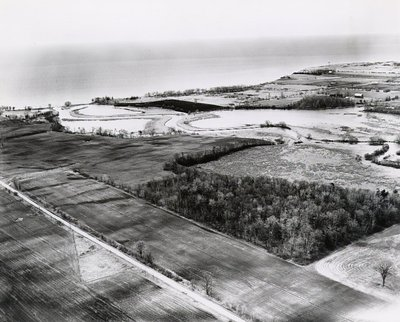Lake Ontario - Duffins Creek - Ajax - Aerial Photo