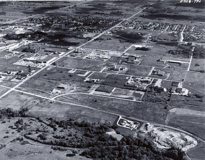 Steam Plant - Ajax - Aerial Photo c.1970