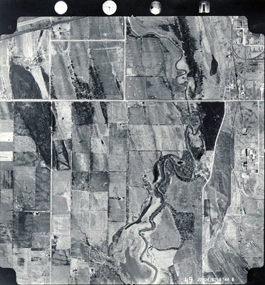 Duffins Creek, c. 1962 - Ajax - Aerial Photograph