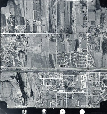 Highway 401- Harwood Avenue - Ajax- Aerial Photograph