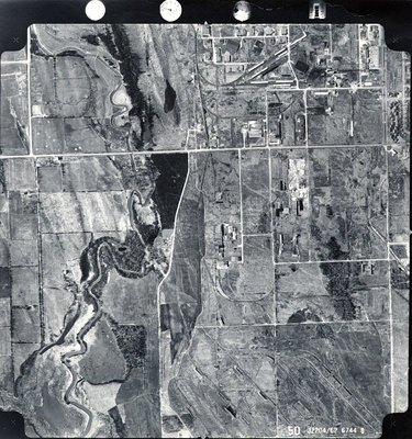 Duffins Creek, c. 1962 - Ajax - Aerial Photograph