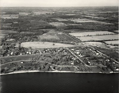 Lake Ontario - Shoreline - Ajax - Aerial Photo