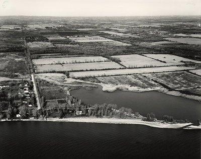 Lake Ontario - Shoreline - Ajax - Aerial Photo