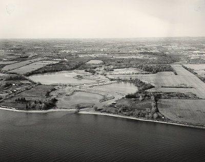 Lake Ontario - Duffins Creek - Ajax -Aerial Photo