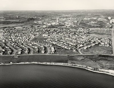 Lake Ontario - Harwood Avenue - Ajax- Aerial Photograph