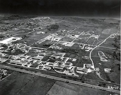 MacDonald Cartier - Steam Plant - Lake Ontario - Ajax- Aerial Photograph