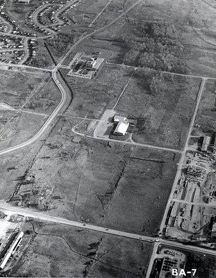 Hospital - Ajax - Aerial Photo