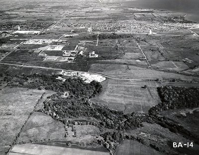 Bayly Street & Harwood Avenue - Ajax - Aerial photo