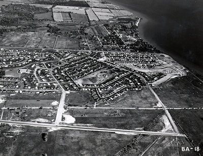 Kinsmen Park - Southwood Park Public School - Shorelines - Ajax - Aerial Photo