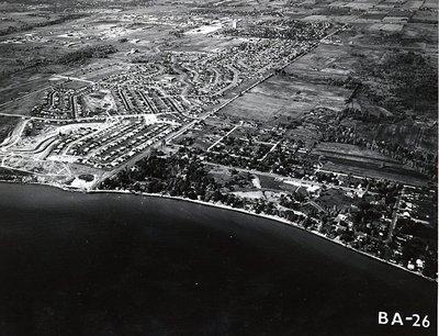 Kinsmen Park - Pickering Beach Road - Lake Ontario - Shorelines - Ajax - Aerial Photo