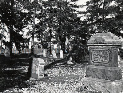 Monuments - Cemeteries - Pickering Village - Anglican Church