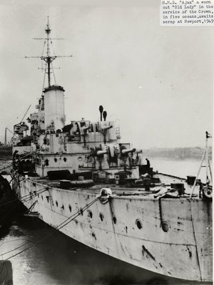 HMS Ajax - Scrapping