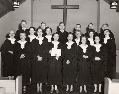 Churches - Ajax - St. Paul's United Church - Choir