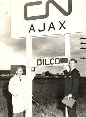 Defence Industries Limited - DILCO railway sign