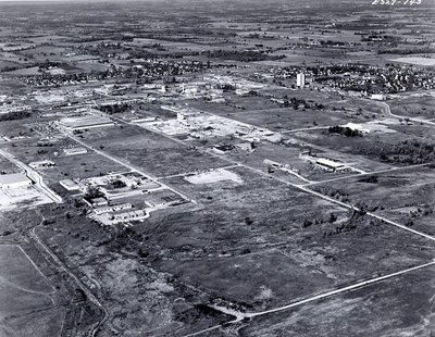 Ajax Community Centre - Aerial Photo Sept. 1968