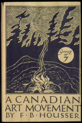 Book cover: F. B. Housser, A Canadian Art Movement, 1926