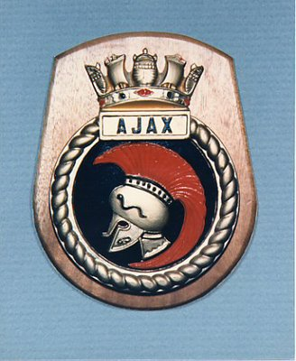HMS Ajax, 1935  - Plaque