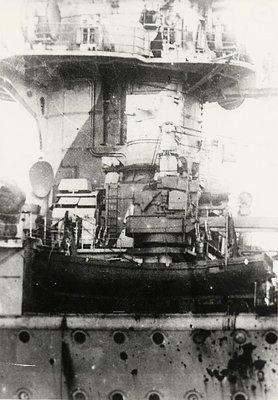 HMS Ajax, 1935 - Damaged German Battleship - Admiral von Graf Spee - Battle of River Plate