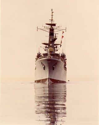 HMS Ajax, 1963 -visit to Canada